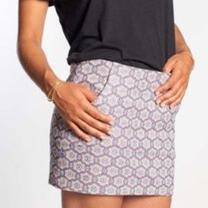 Marine Layer floral mini skirt